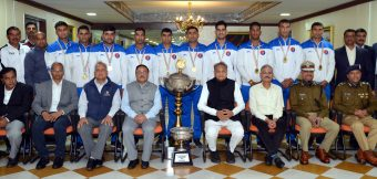 मुख्यमंत्री ने राजस्थान पुलिस के पदक विजेता खिलाड़ियों को बधाई दी