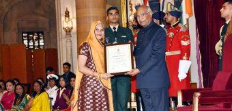 नारी शक्ति पुरस्कार से नवाजी गई बाड़मेर की रुमा देवी, राष्ट्रपति ने किया सम्मानित