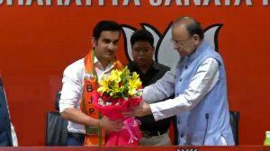 Gautam Gambhir BJP TW-1553239176